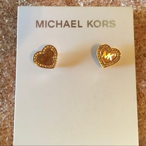 Michael Kors Heart Earrings